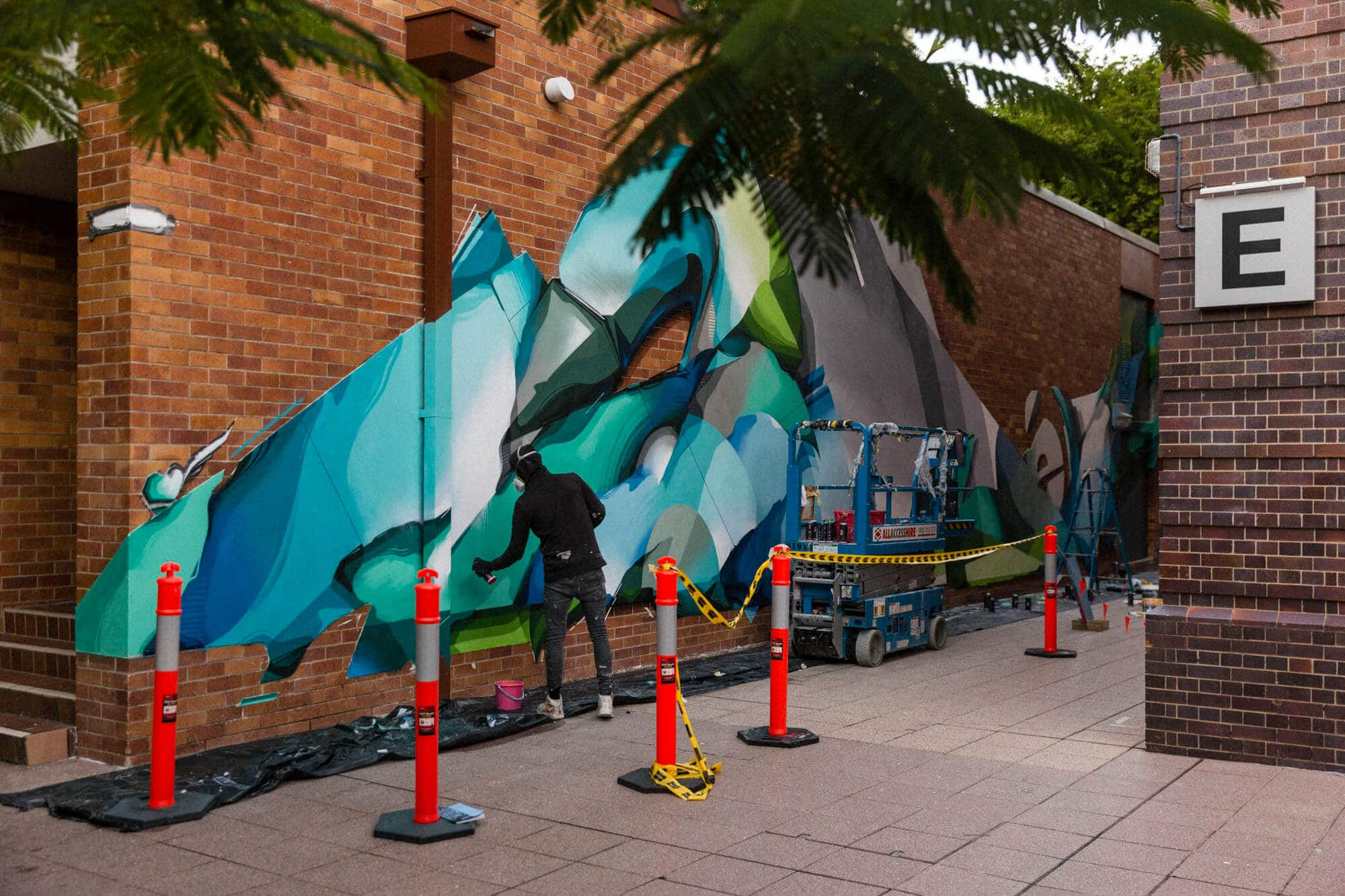 Digital DOES QUT Brisbane Street Art Festival